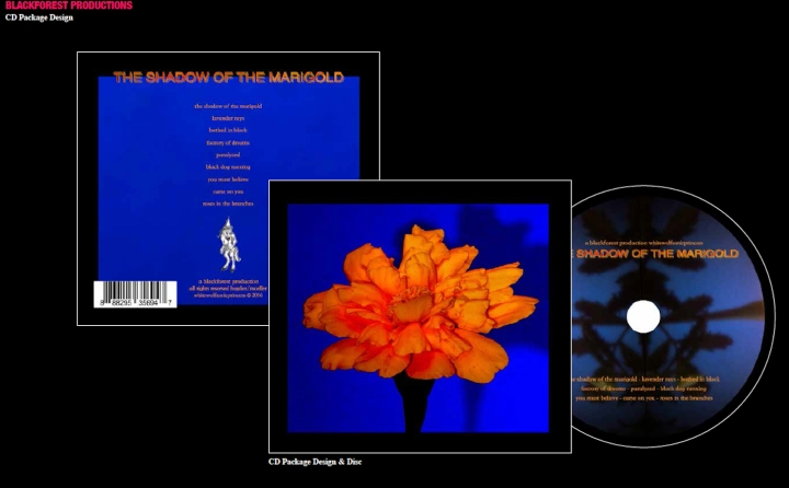 Shadow CD Package Design